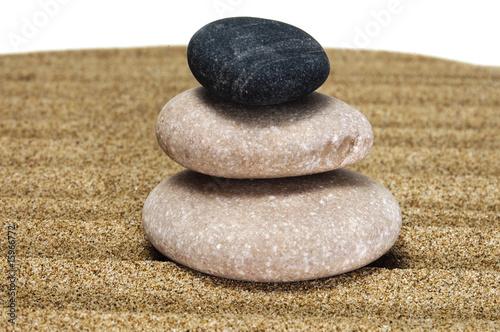 Foto op Plexiglas Stenen in het Zand relax