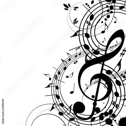 Fotografie, Obraz  Musical theme