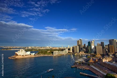 Staande foto Sydney City Skyline at Circular Quay, Sydney, Australia