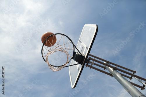 Fotografiet  Basketballkorb