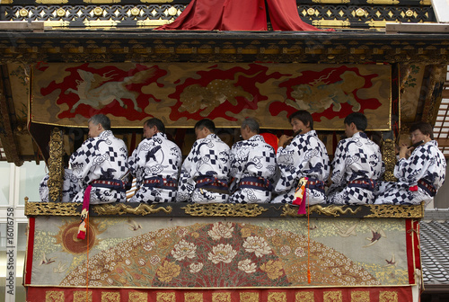 Papiers peints Affiche vintage 祇園祭