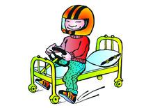 Bed Racing