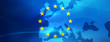 Leinwanddruck Bild - Europe