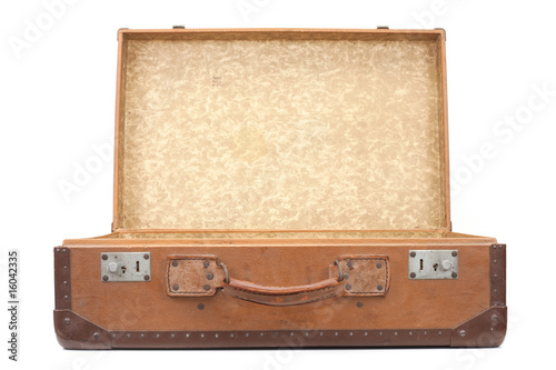 Valokuvatapetti vieille valise