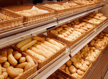 Variety Of Baked Products At A...