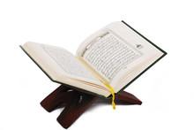 Holy Islamic Book Koran Opened...