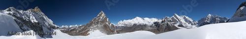 Foto op Canvas Nepal Mountain landscape wide panorama, Himalayas