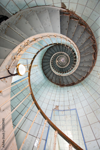 Valokuva  lighthouse high staircase