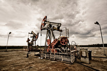 Oil Pump In The Field