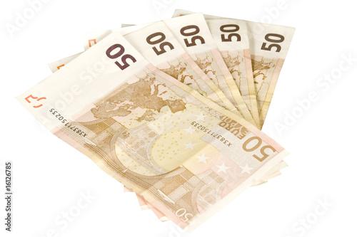 Fotografia  50 Euro Scheine