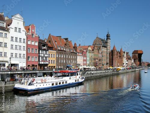 Hafen in Gdansk