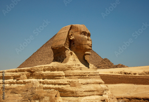 Photo Stands Egypt The Great Sphinx of Giza
