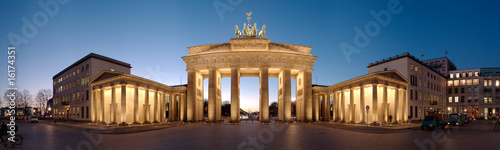 Stickers pour porte Berlin Brandenburger Tor / Brandenburg Gate