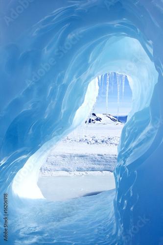 Poster Antarctic Ice cave