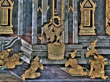King Palace - Ramayana Murals Nb.26