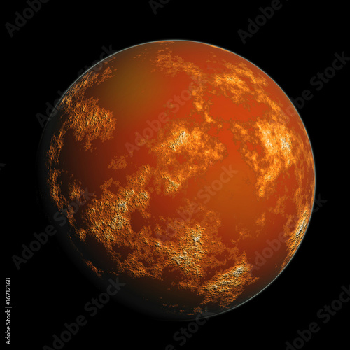 Deurstickers Nasa planet Mars