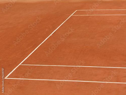 Fotografie, Obraz  Court de tennis