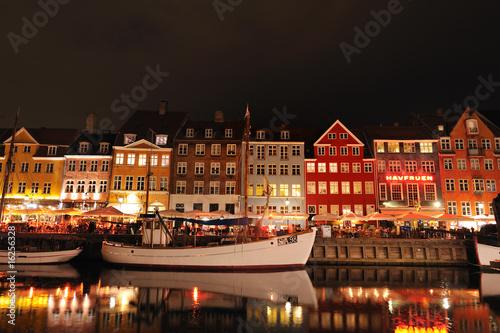 Photo  Nyhavn Copenhagen Denmark