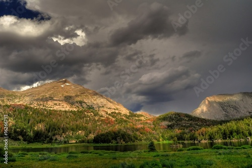 Photo  Wyoming-Wind River Storms