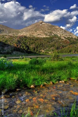 Photo  Wind River Range Mountain Stream