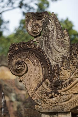Tuinposter Indonesië Ruin, Angkor Wat