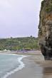 Rocky coastline tract, Marina di Camerota, Italy