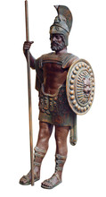 Bronze Gladiator With Path