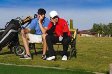 Golfer Hatten Pech Und Sind Verärgert