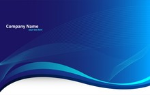 Blue Abstract Background (business)