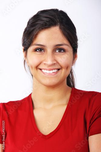 Valokuva  Portrait of Beautiful Young Hispanic Woman