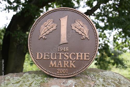 Fotografia  Deutsche Mark Denkmal