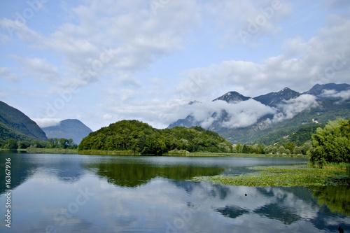 Fotografie, Obraz Réveil du Lago Piano, Lugano