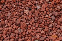 Red Volcanic Rock Texture