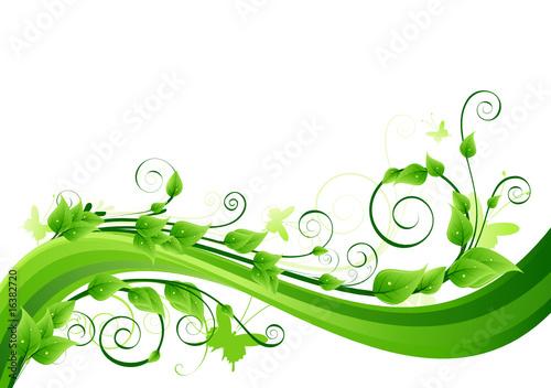Fresh green background