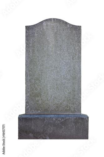 Foto Blank gravestone