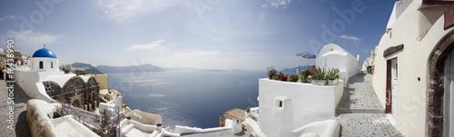 Papiers peints Santorini Oia, panorama