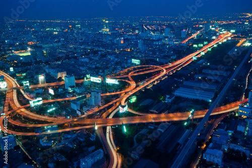 Fotografie, Tablou Metropole (Bangkok)