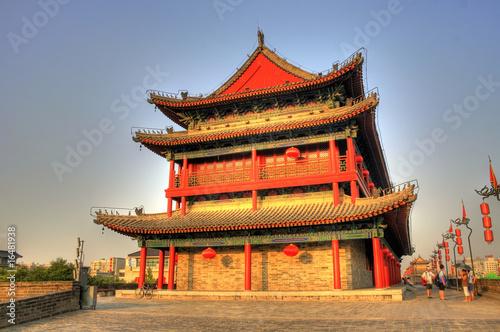 Foto op Plexiglas Xian Xi'an / Xian (China) - Cityscape