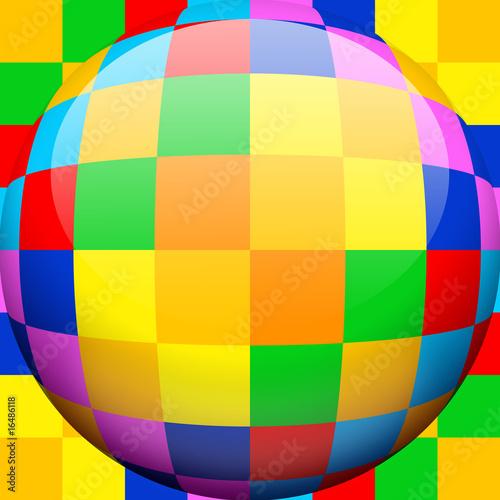 Caleidoscopio Sfera-Kaleidoscope Globe-Multicolor-1 - 16486118