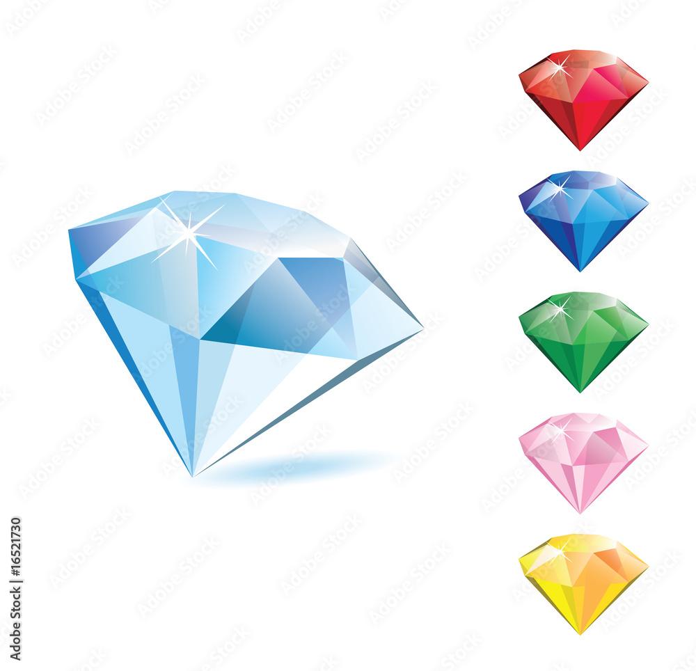 Fototapeta Diamonds