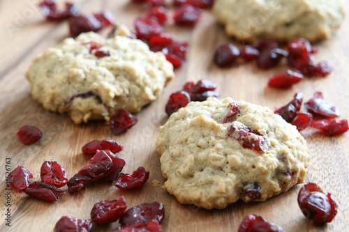 Oatmeal Cranberry Cookies Canvas Print