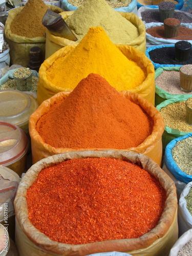 Foto op Plexiglas Marokko spezie