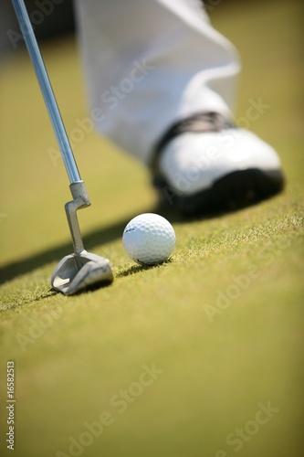 Obraz na plátně golf