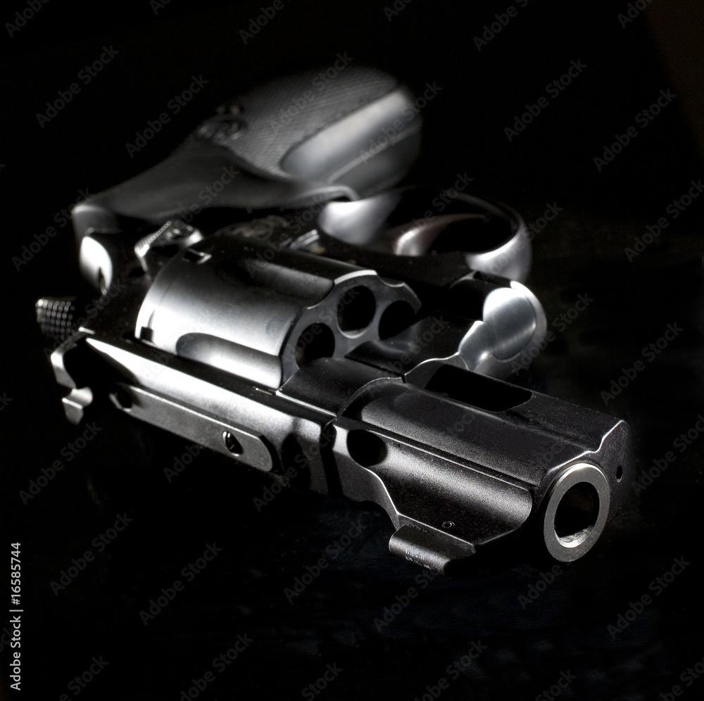 Fototapeta nighttime gun