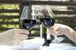 ワインで乾杯