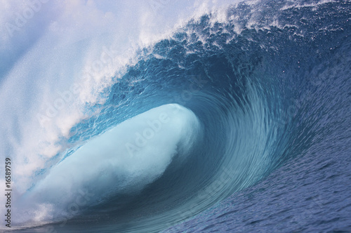 Spoed Foto op Canvas Water vague de teahupoo #5