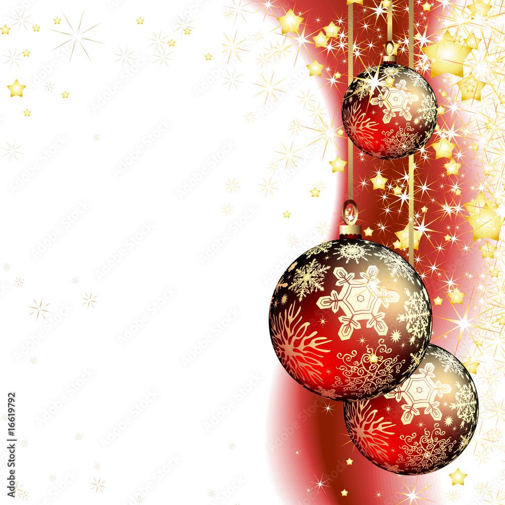 Foto-Doppelrollo - christmas