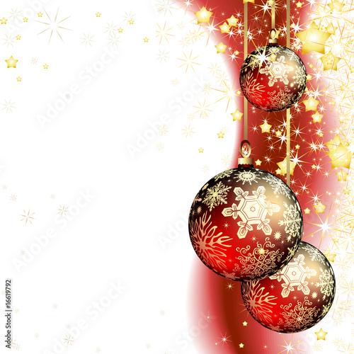 Foto-Plissee - christmas (von Aqua)