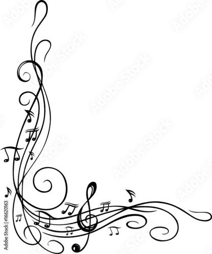 noten notenschlüssel musiknoten musik ranke stock