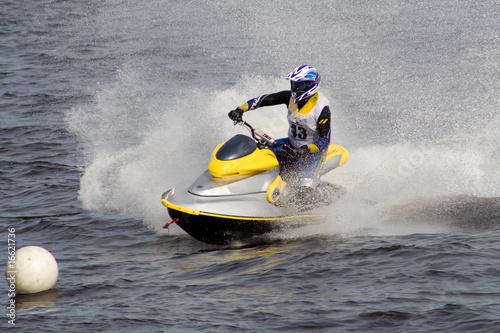 Jet ski competition in Riga